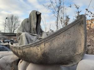 farryman charon guardians of time manfred kielnhofer ghost timekeeper faceless statue boat