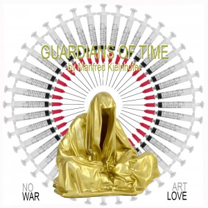 no-war-make-art-love-hope-guardians-of-time-manfred-kielnhofer-arts-sculpture